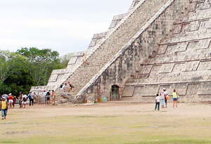 The Pyramid of Kukulkan - Chichen Itza